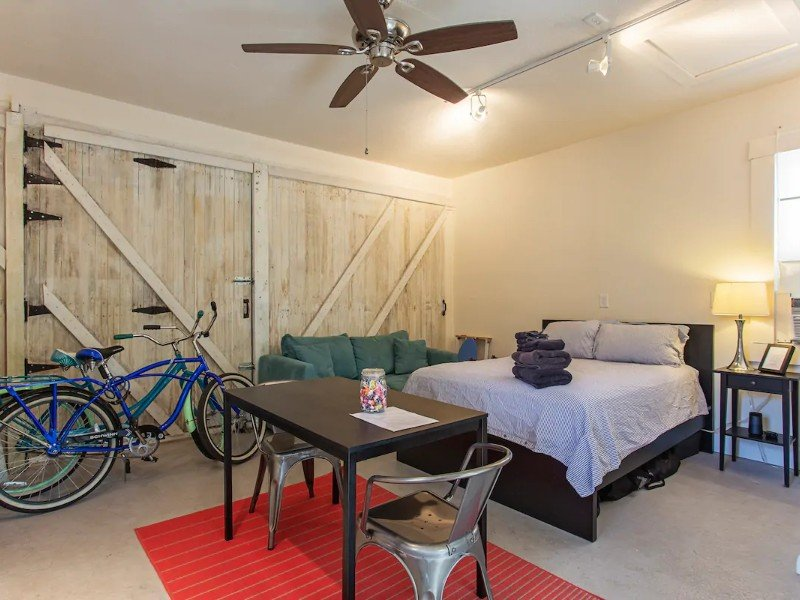 Interior space at Guesthouse in Tampa's Hippest Neighborhood