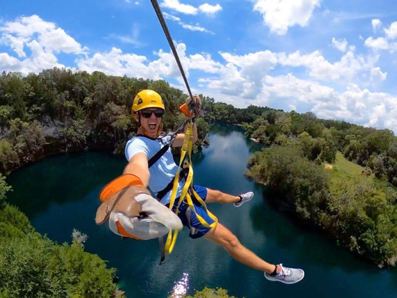 The Canyons Zip Line and Adventure Park, Ocala, Florida