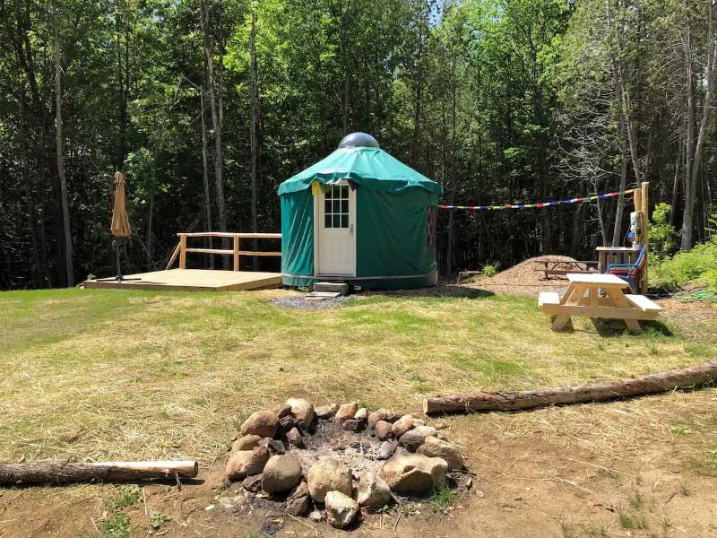 Yurt Near Kingdom Trails