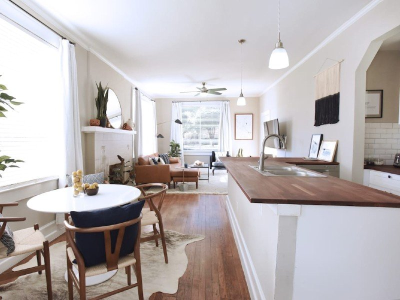 Work from Home in Style-Free Parking+W/D+Kitchen