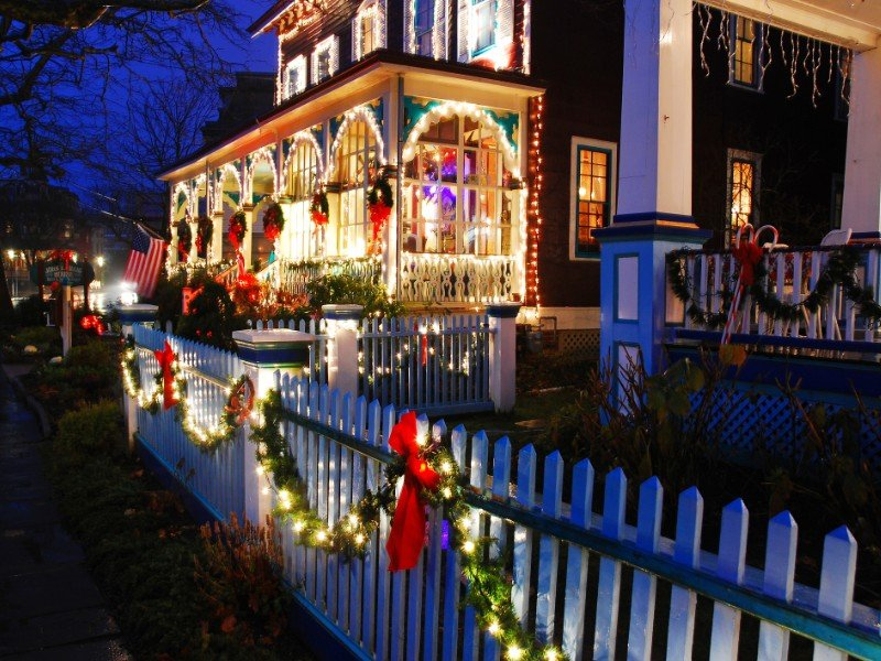 Victorian Christmas in Cape May, New Jersey