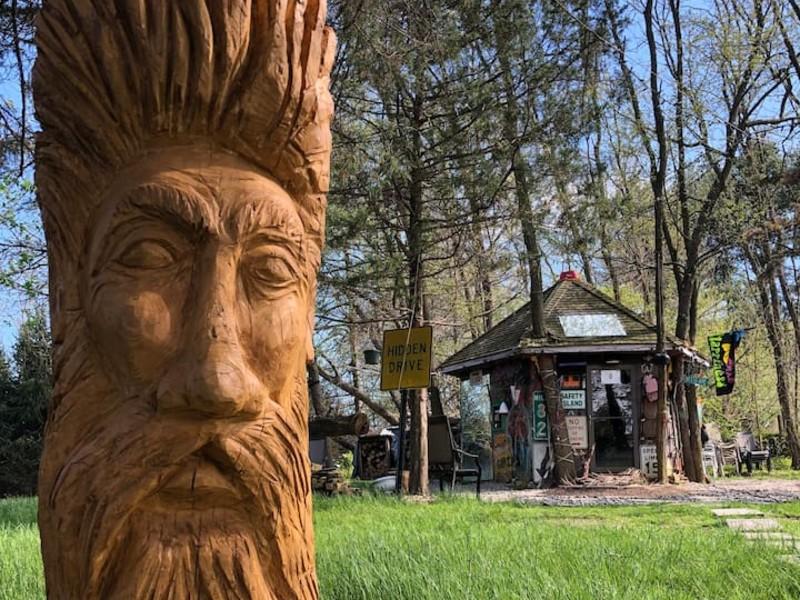 Hippy Hut Near Six Flags