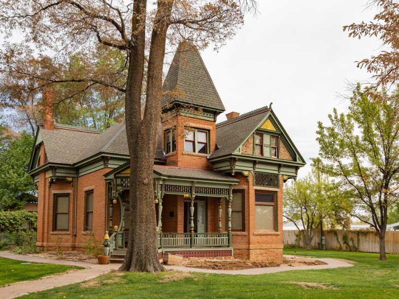 Exterior view of The Kanab Heritage House Museum