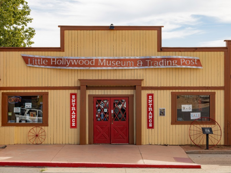 Exterior view of The Little Hollywood Land