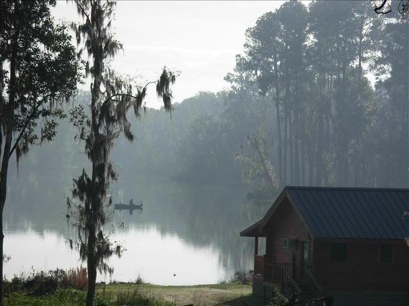 Florida Log Cabin Lakefront