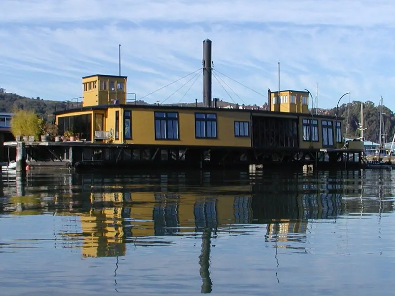Water view - Historic Ferryboat in Sausalito