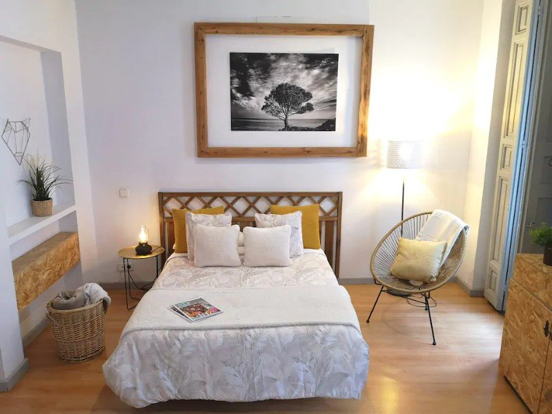 Bedroom at Live and Enjoy in the Heart of Madrid