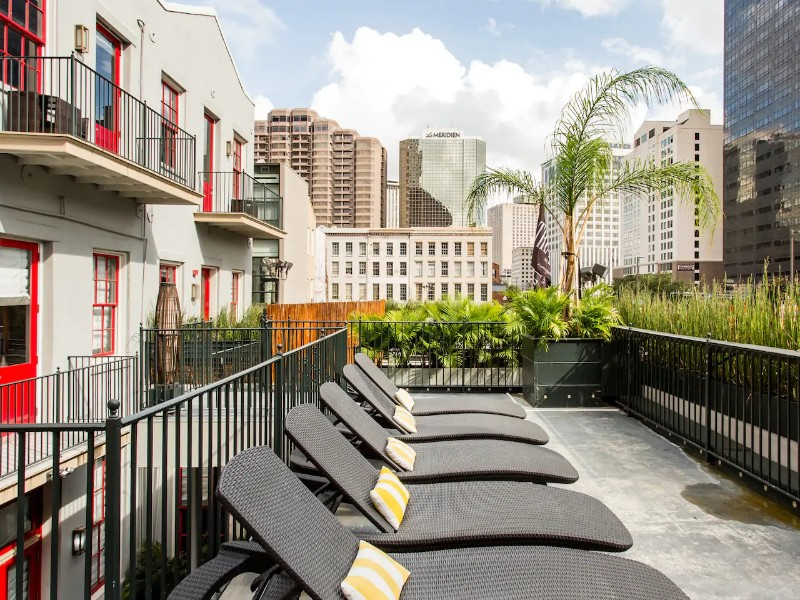 Luxury Condo with Private Balcony, Steps from French Quarter