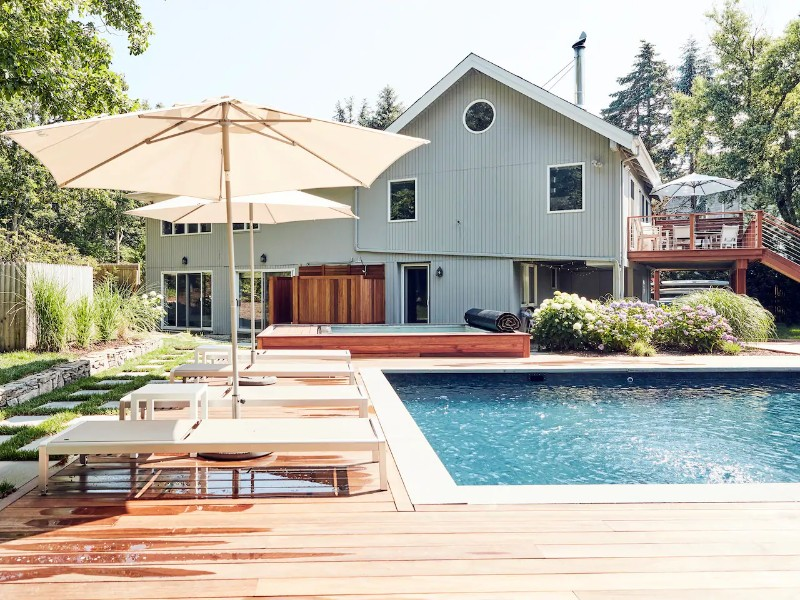 Modern Retreat with Pool & Spa + Views of the Bay
