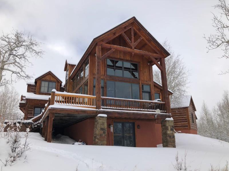 Mountain Sky Cabin in the Winter, San Miguel County, Colorado