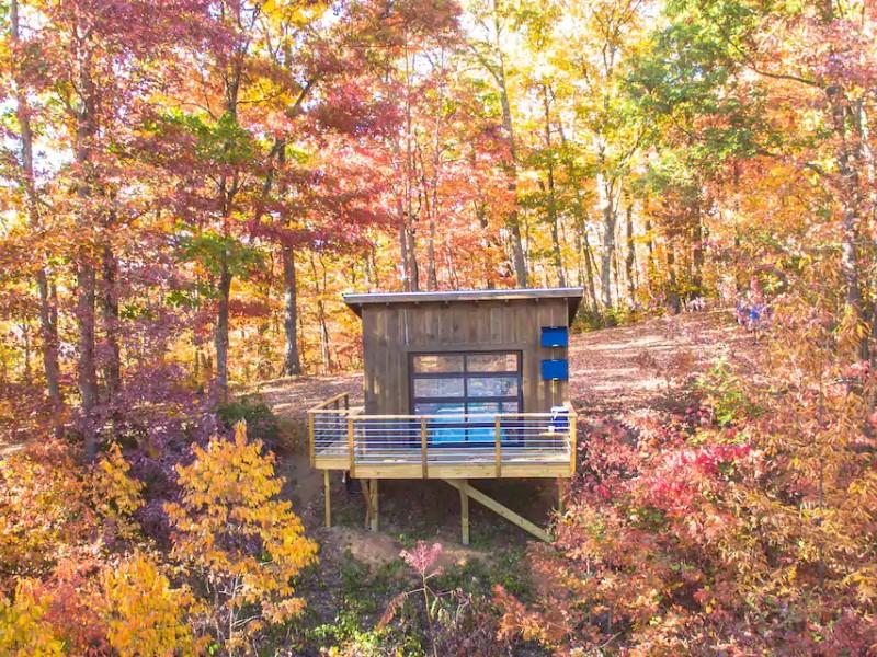 Woodlands at Pisgah Highlands Off-Grid Cabin