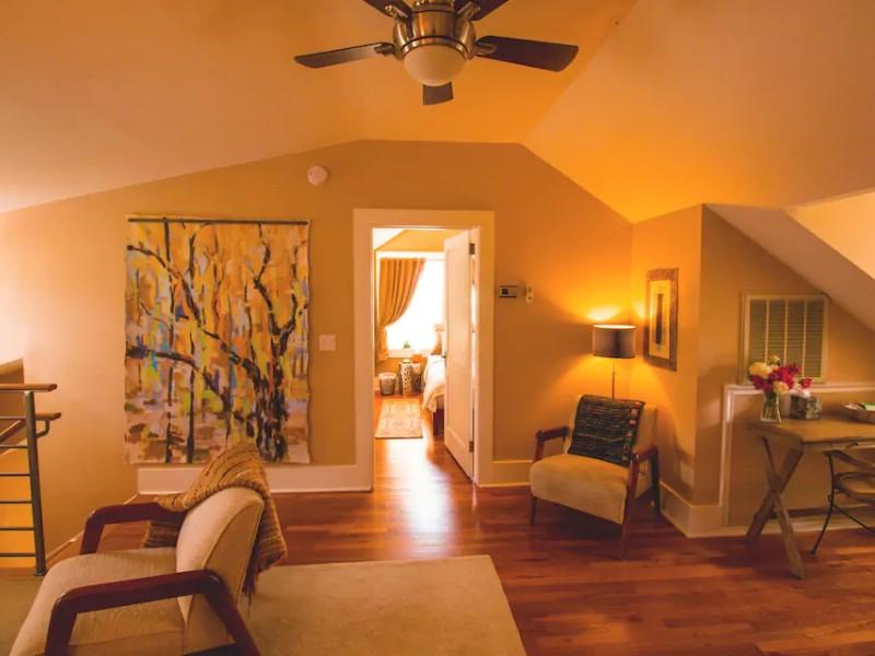 Interior space at Relax & Renew: Spa/Yoga Retreat