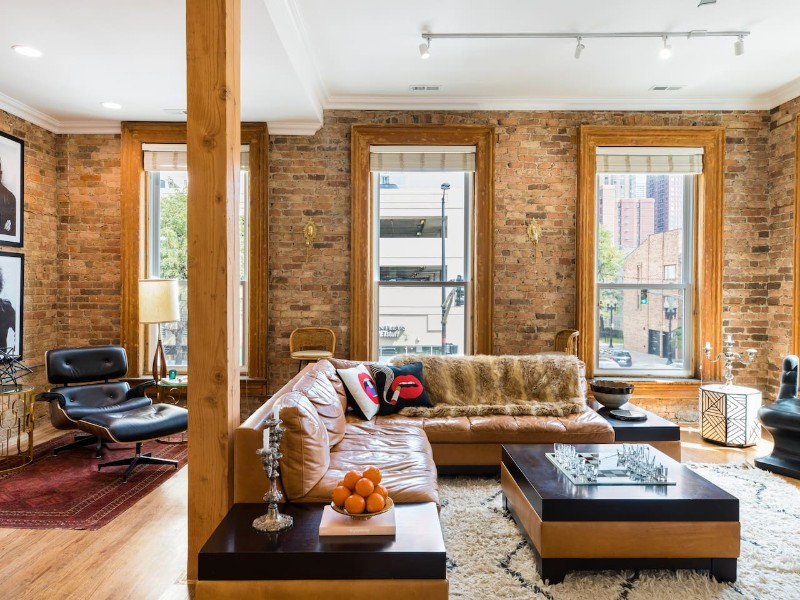 Inside Stunning Old Town Penthouse