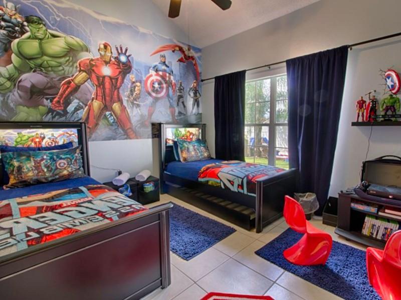 Themed 7-Bedroom Home Near Disney