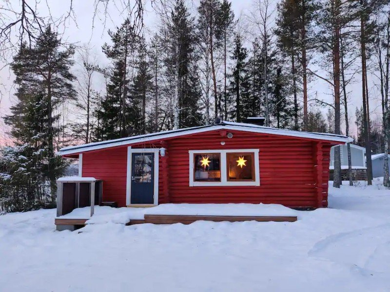 Traditional Finnish Cottage