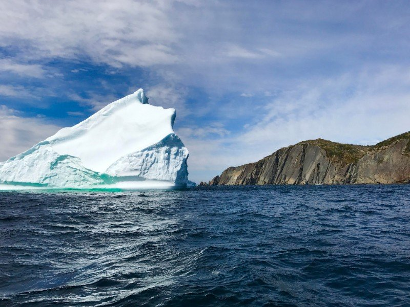 Iceberg near Trinity, Newfoundland and Labrador