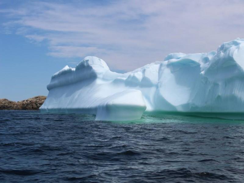 Iceberg in Twillingate, Newfoundland and Labrador