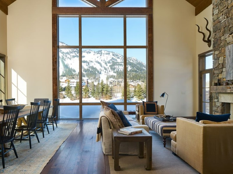 1 Mile From Grand Teton Park,by The Ski Slopes, Mountain Views,HotTub
