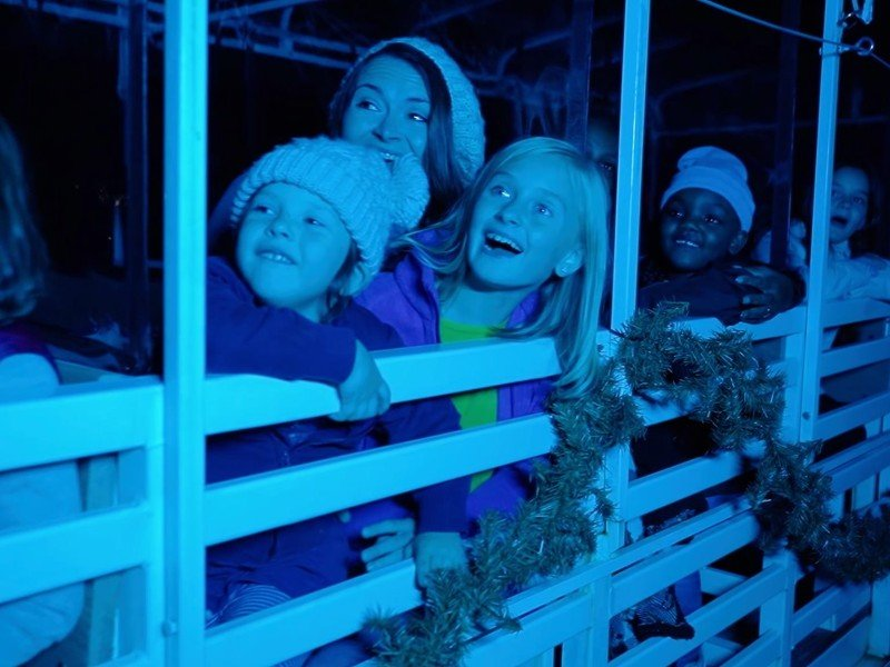 Kids at Fantasy in Lights