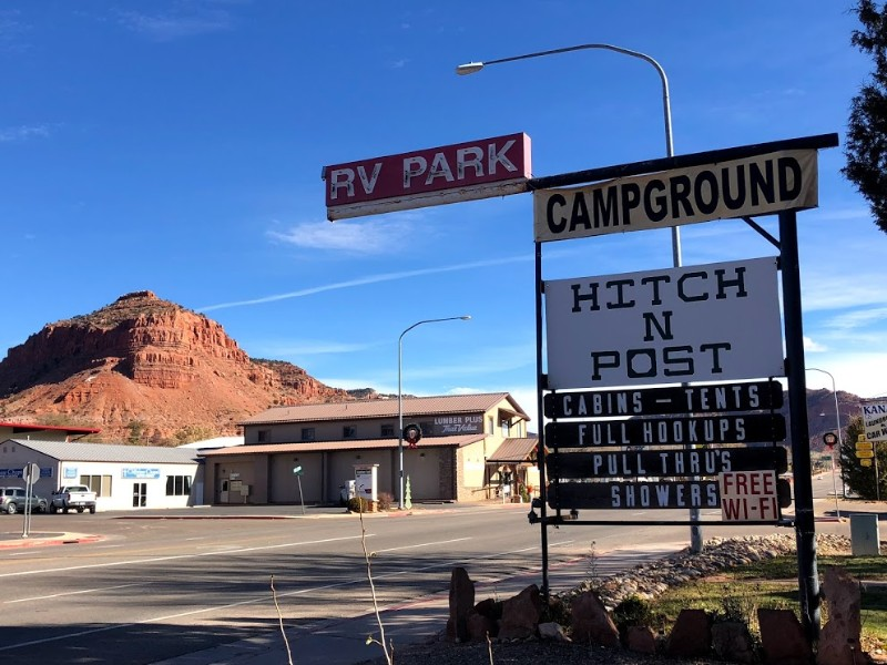 Campground in Kanab