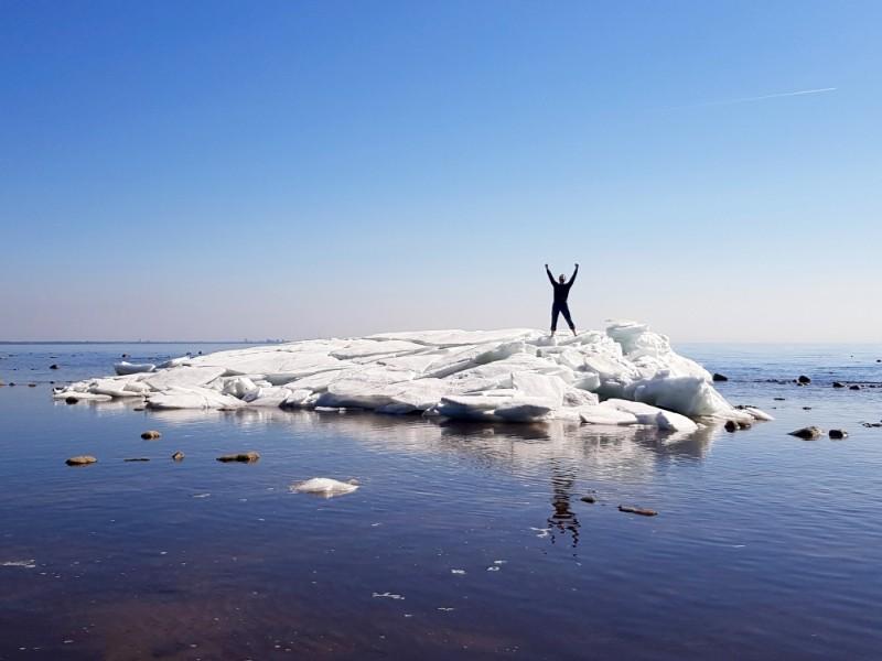 Iceberg gulf of Finland