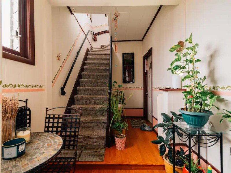 Stairs at 2nd Floor Apartment in a Two-Family House