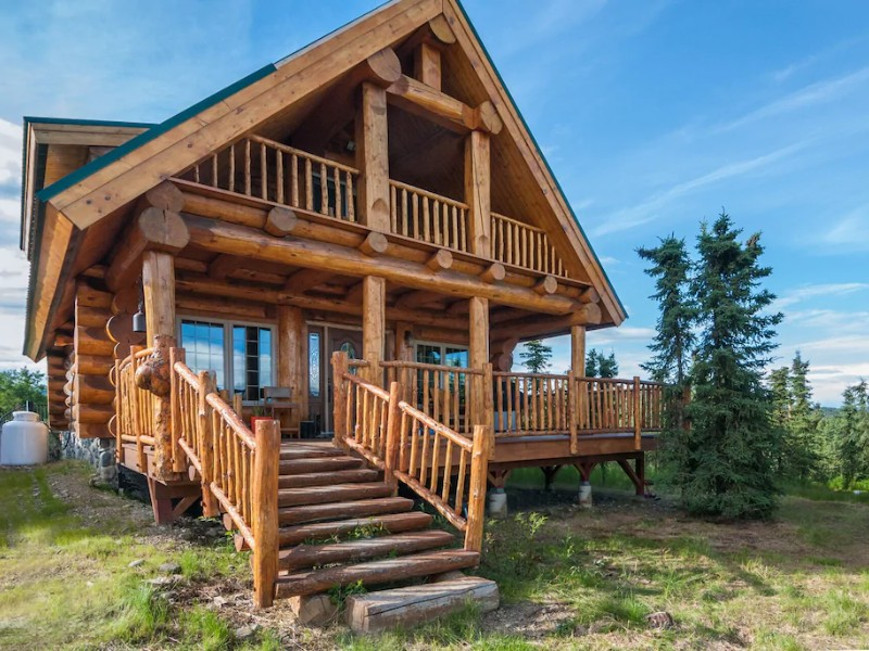 Alaska Cabin with Jacuzzi – Denali National Park, AK
