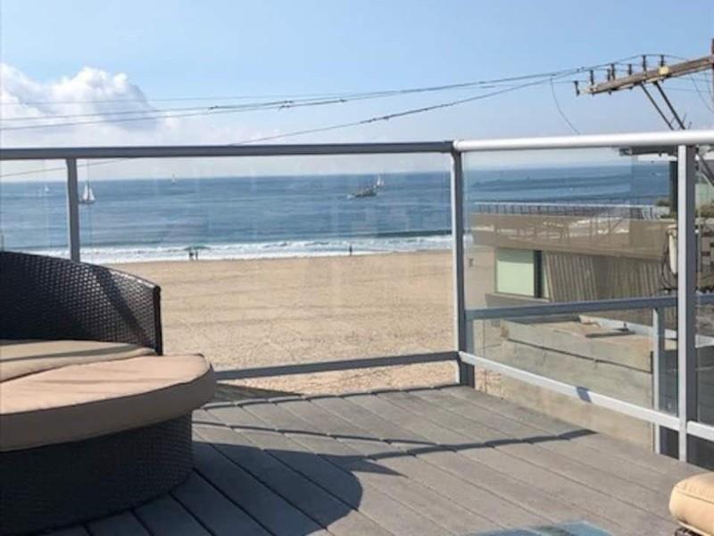 Beach view from the deck, beautiful Marina Del Rey Beach Getaway