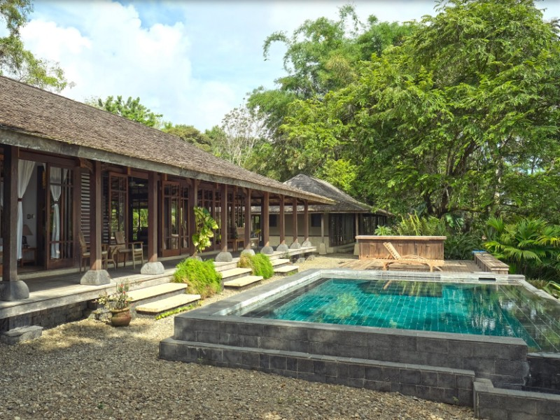 Epic 200 Year Old Bali Home on 20 Acres