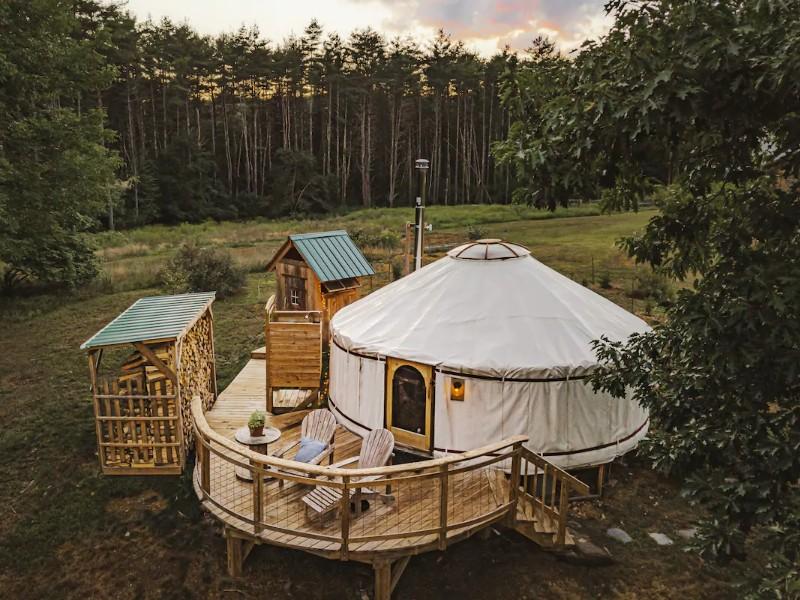 Four-Season Luxury Yurt
