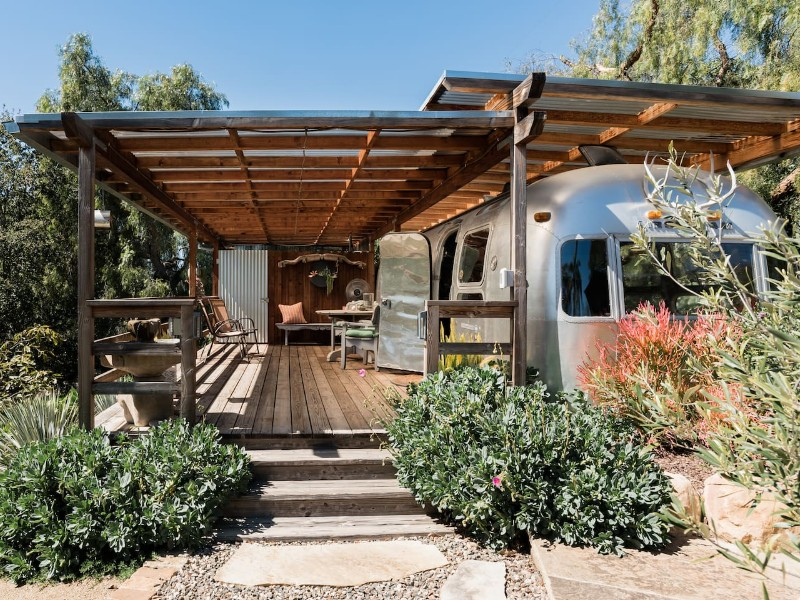 Iconic 1974 Airstream on an Organic Ranch