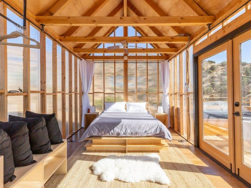 Minimalist Modern Cabin, Morongo Valley, California