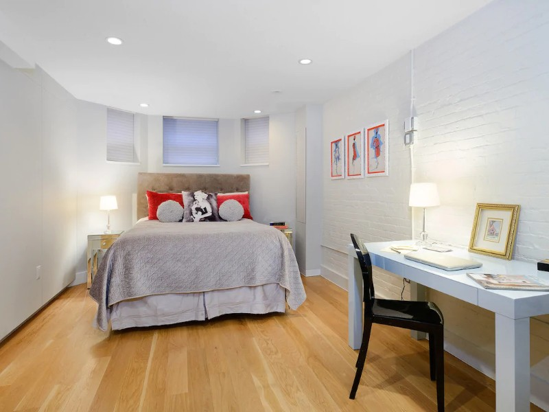 Bedroom at Uptown Chic Apartment