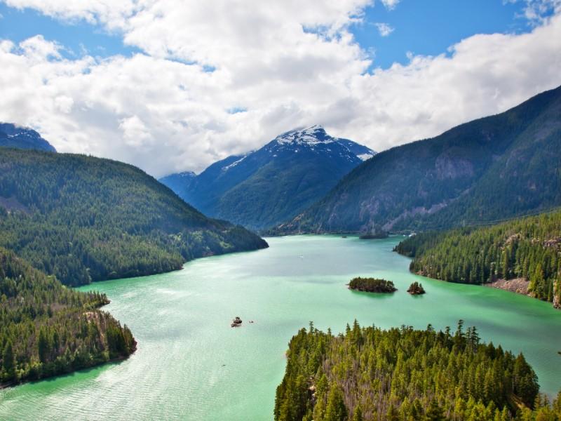 Lake Diablo, North Cascades National Park