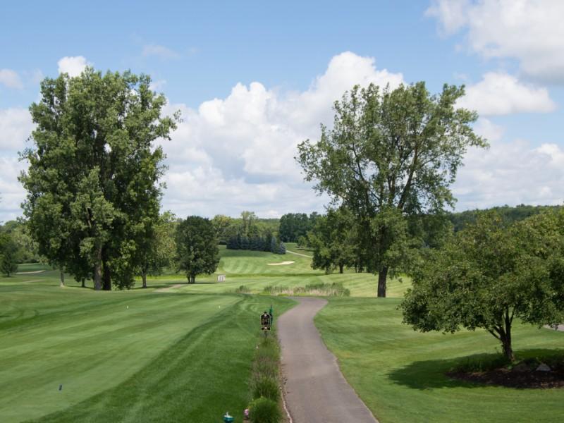 Golf Landscape near Detroit, Michigan