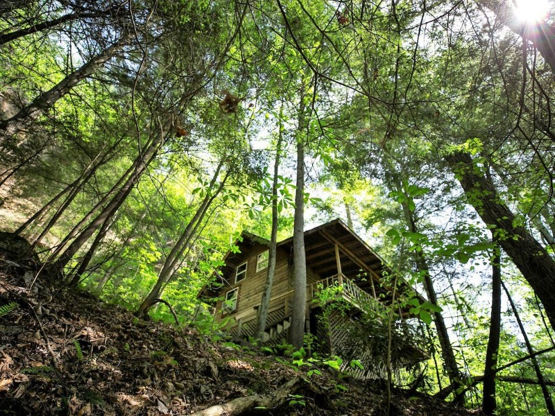 Climber's Cabin at Sorrent Falls