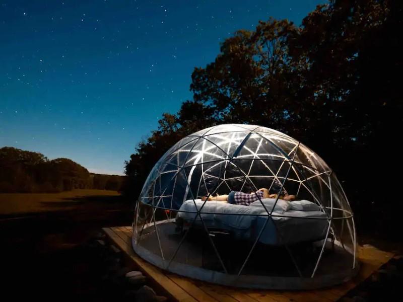 Unique Dome Glamping Site