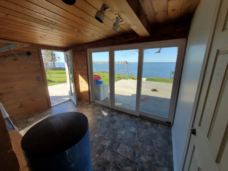 View from Cozy Home on Lake Huron