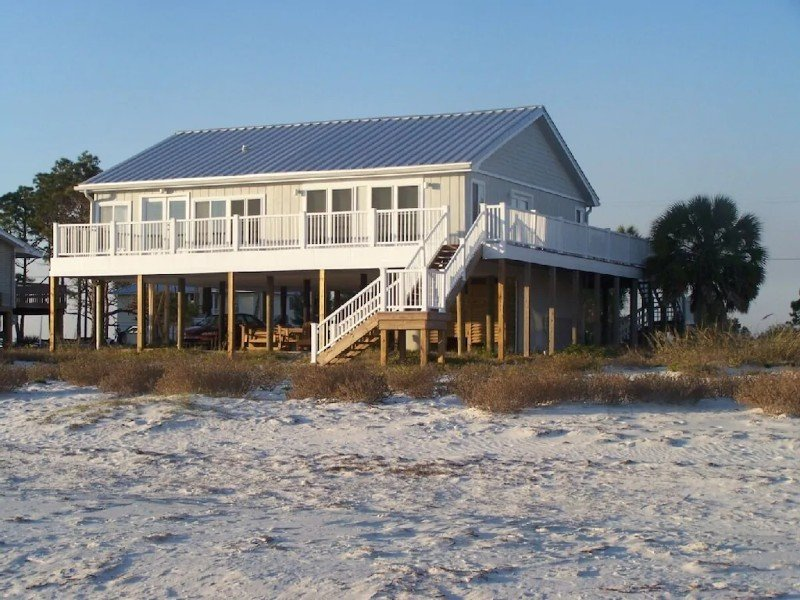 Endless Ocean Views on The Edge of The Gulf of Mexico – Alligator Point, Panacea
