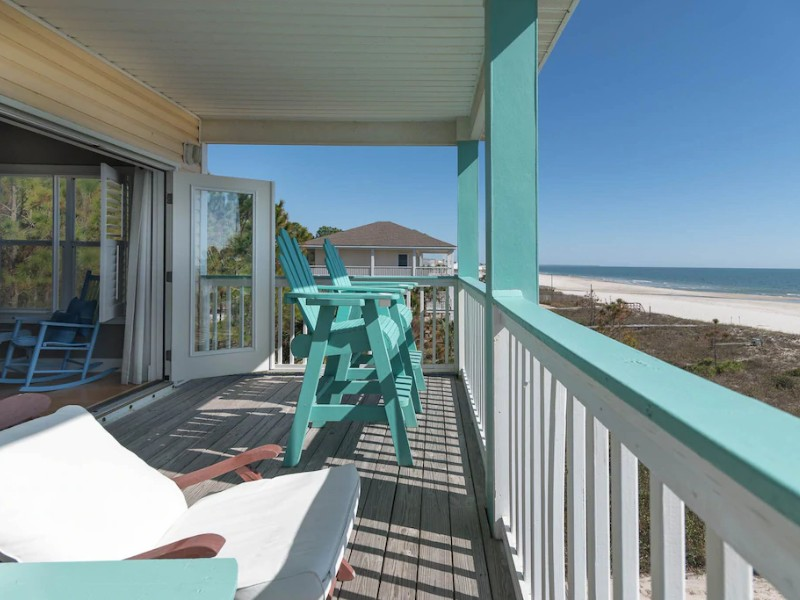 Gulf Front with Hot Tub on Deck – Port St. Joe