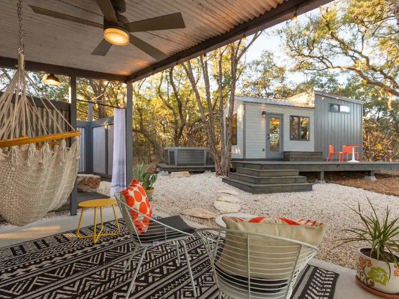 La Petite: Tiny House Tucked in Nature with Hot Tub in Wimberley