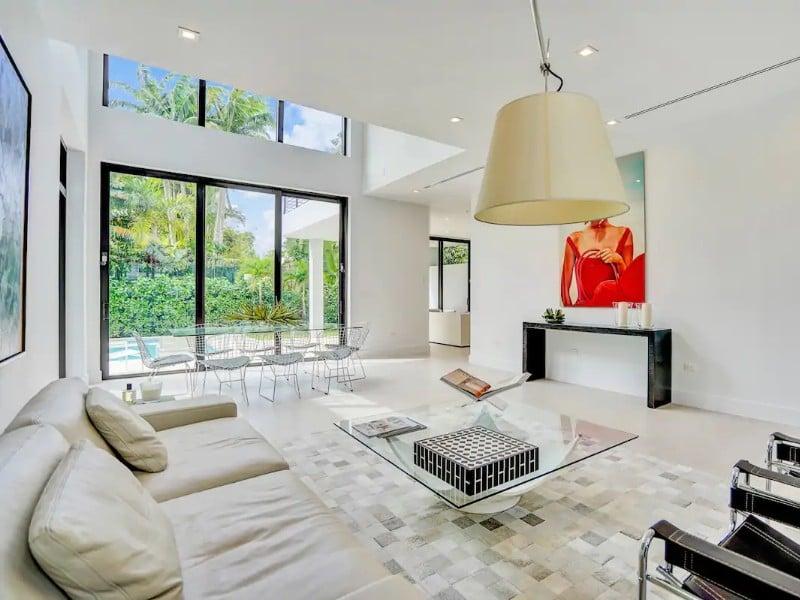 Modern Coconut Grove Villa with Pool