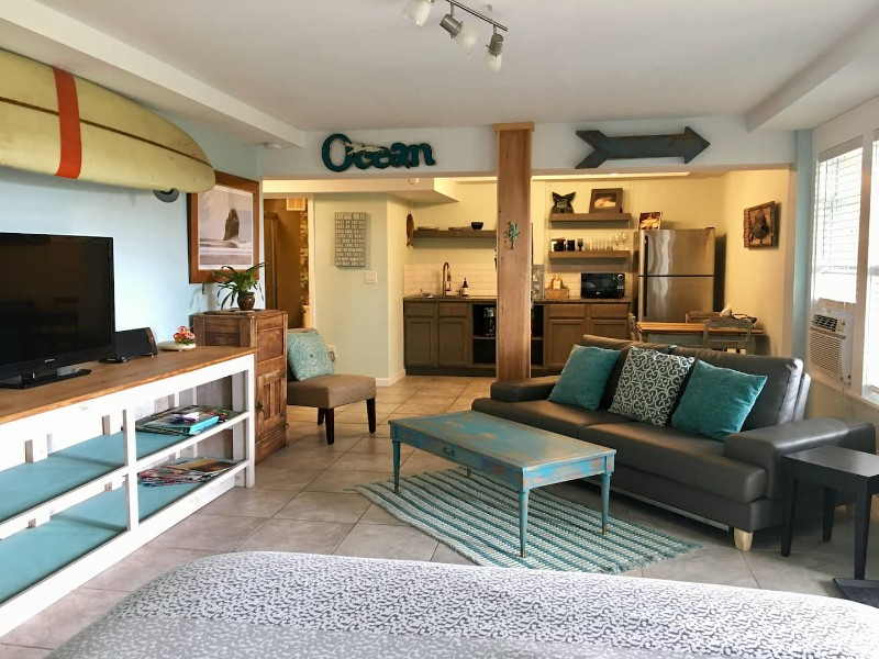 Modern Studio with Kayaks & Bikes