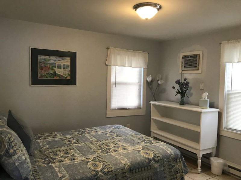 Bedroom at Pet-Friendly Bayview Apartment
