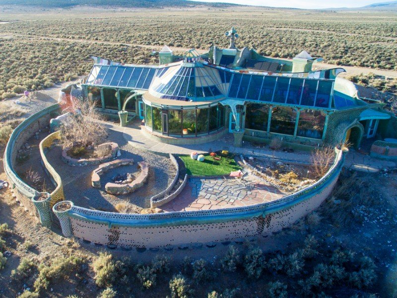 Phoenix Earthship - El Prado, New Mexico