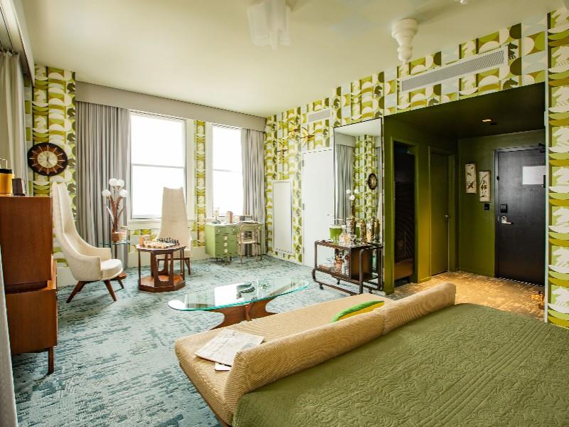 Queen's Gambit Room 21c Museum Hotel Lexington