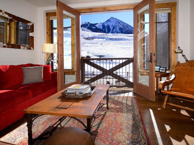 Slope Side 1 Bedroom Studio @ WestWall Lodge, Crested Butte