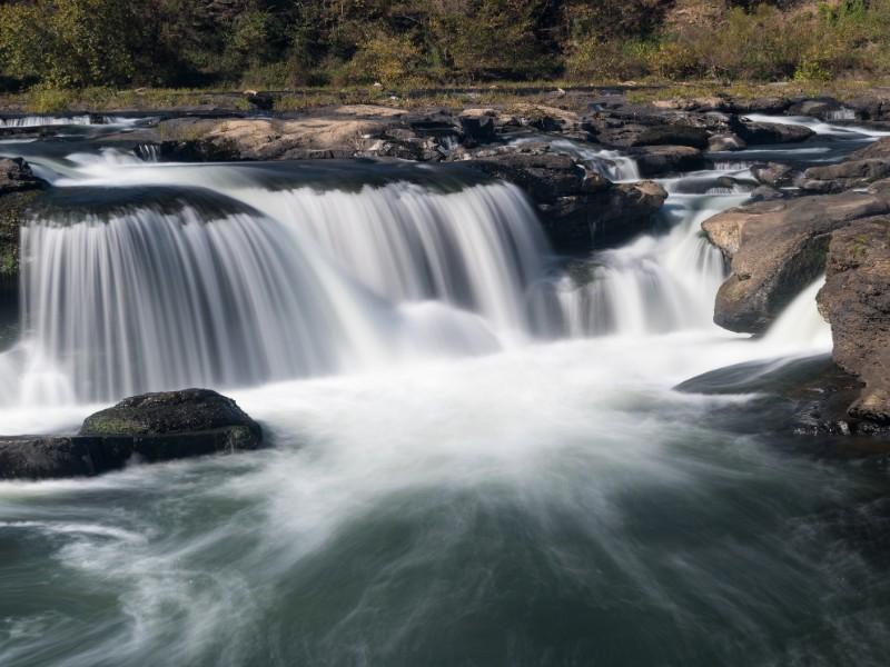 Sandstone Falls on New River, West Virginia