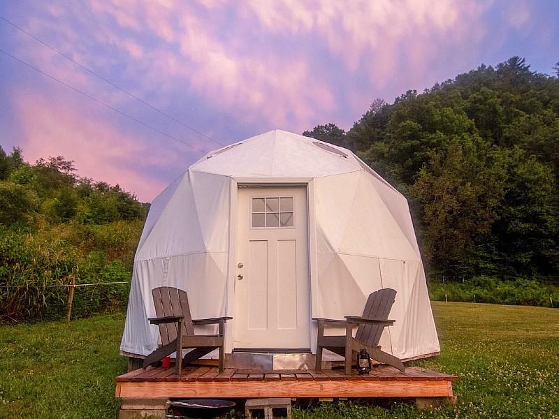 Smoky Mountains Glamping Dome