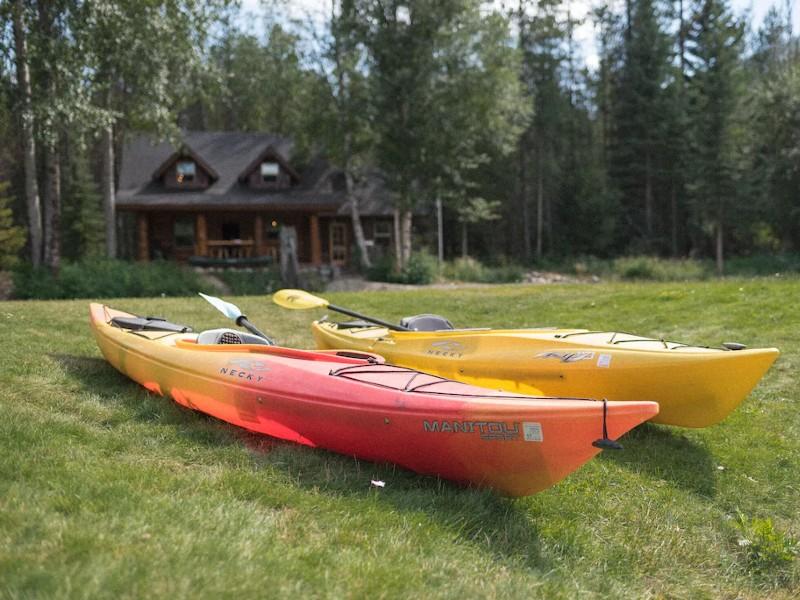 Handcrafted Riverfront Log Cabin